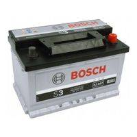 Акумулатор Bosch Silver S3 56Ah R+ 480A стартов ток