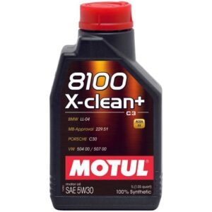 MOTUL 8100 X-CLEAN + 5W-30