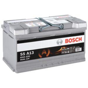 Акумулатор BOSCH S5 95Ah AGM R+