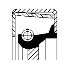 Семеринг ръчна трансмисия Corteco 12014316B