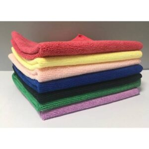 3x All-Purpose Microfiber Terry Towel Green 41 x 41 см