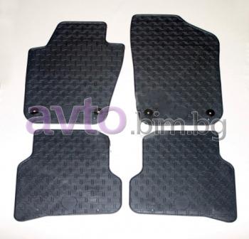 Чешки гумени стелки комплект предни и задни (4 броя)