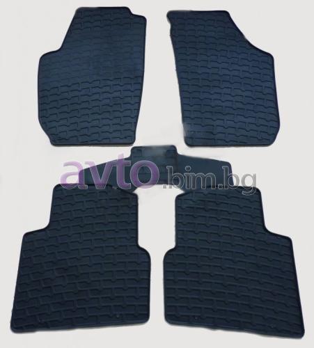 Чешки гумени стелки комплект предни задни и багажник (5 броя)