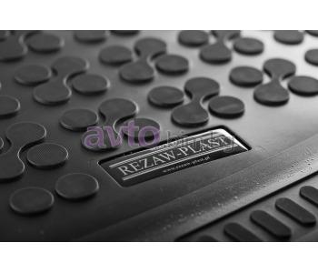 Гумени стелки комплект предни и задни - черни