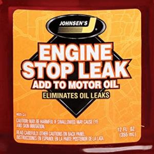 ENGINE STOP LEAK 100% преустановява теча на масло