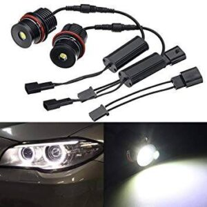 Led Angel Eyes BMW E39, E53, E60, E61, E63, E65 CANBUS