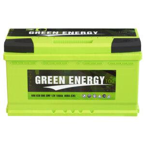 Акумулатор GREEN ENERGY 100Ah 800A R+