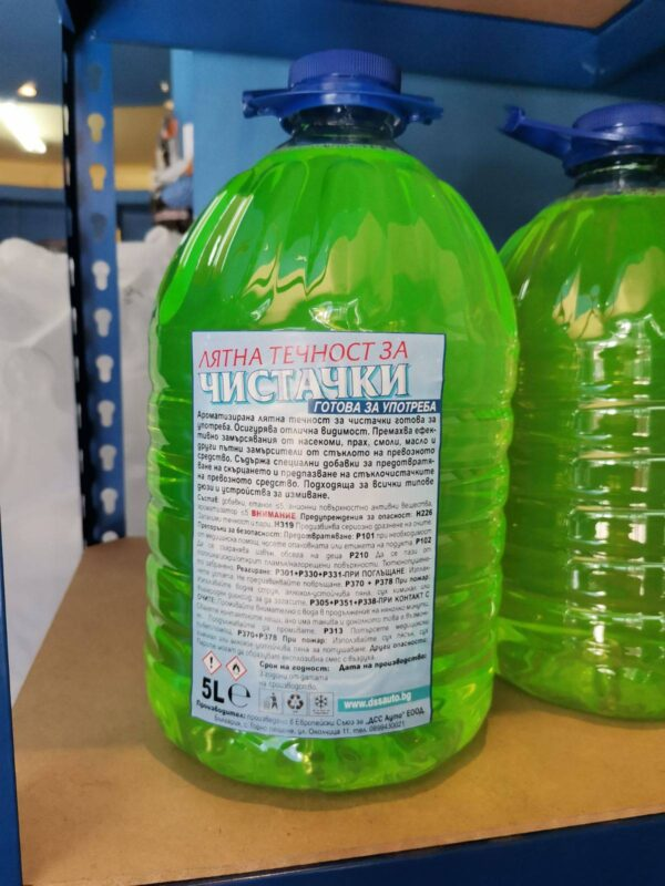 dssauto лятна течност за чистачки