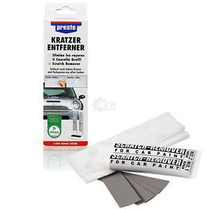 SCRATCH REMOVER KIT - комплект за заличаване на драскотини